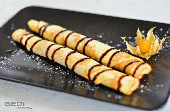 Clatite cu ciocolata (Finetti)
